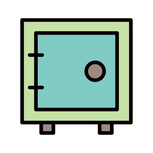 Vector kluis pictogram