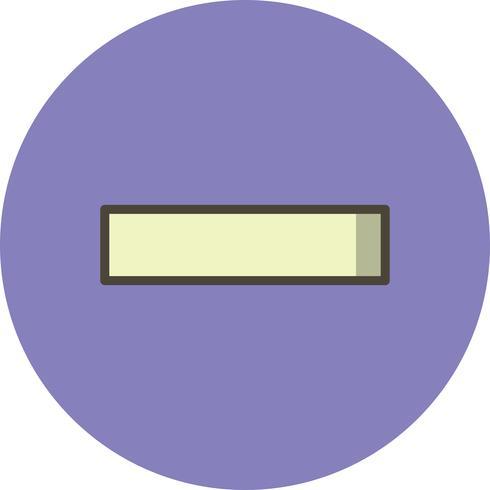 Minus Vector-pictogram vector