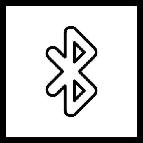 Bluetooth-vectorpictogram vector