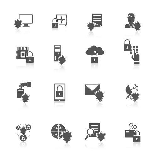 Informatiebeveiligingspictogram vector