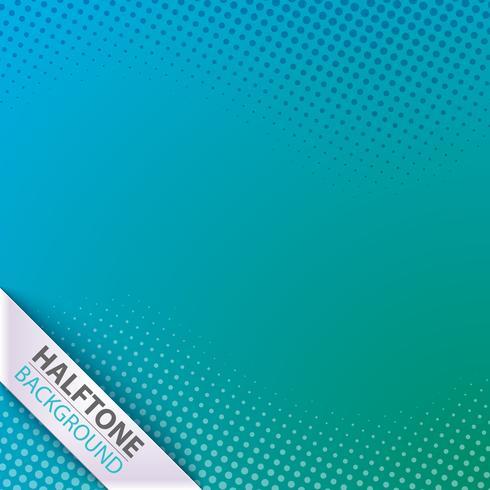 Halftoon idee. Kleur zakelijke sjabloon. vector