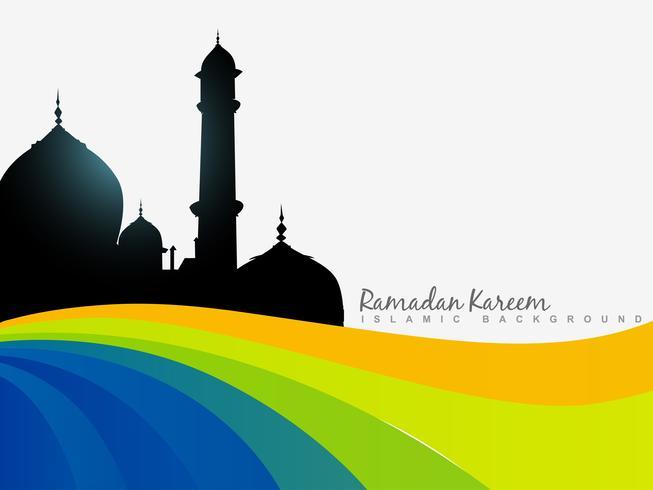 ramazan achtergrond vector