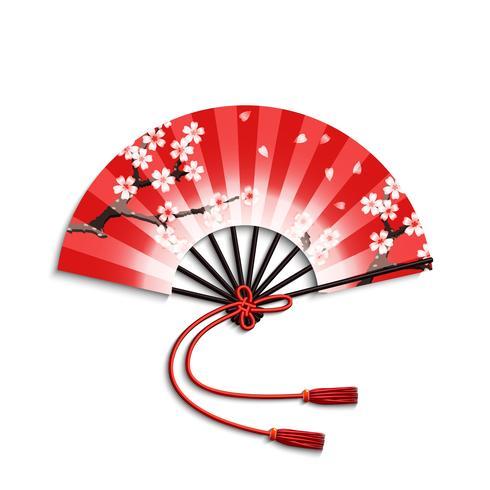 Japanse ventilator vector
