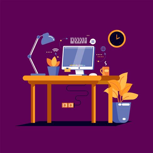 kantoor vector