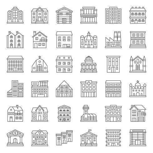 bouw constructie vector
