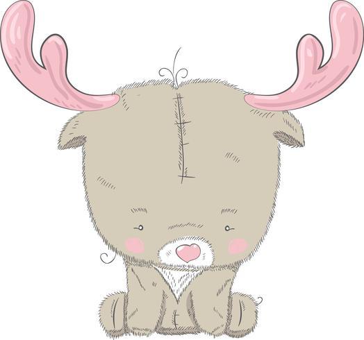 Schattige baby herten vector