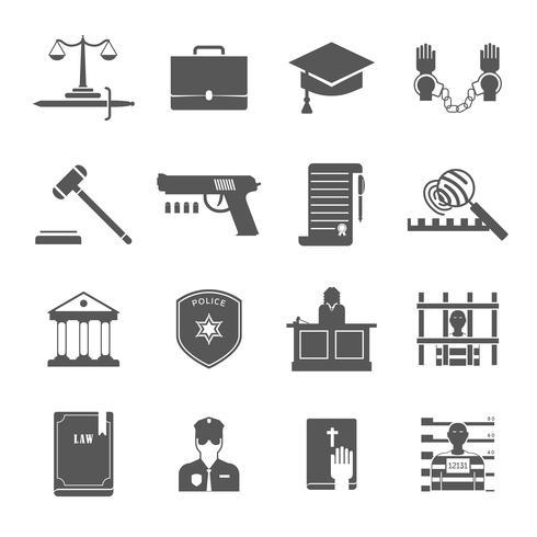 Wetshandhaving Icons Set vector