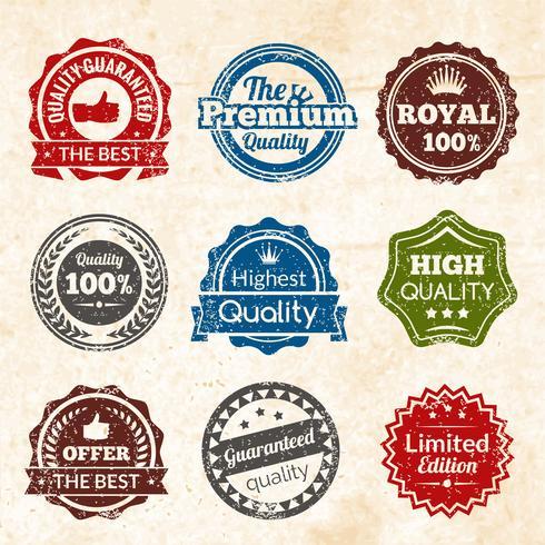 Vintage Premiumkwaliteit vector