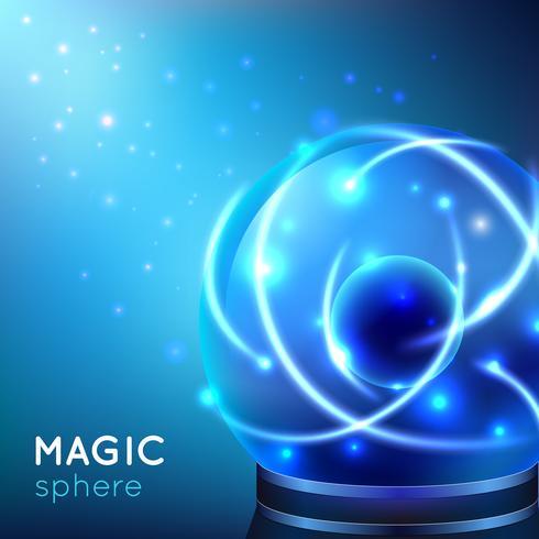 Magische bol illustratie vector
