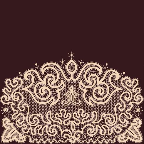 Abstract kant lint naadloze patroon vector