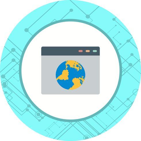 browser pictogram ontwerp vector