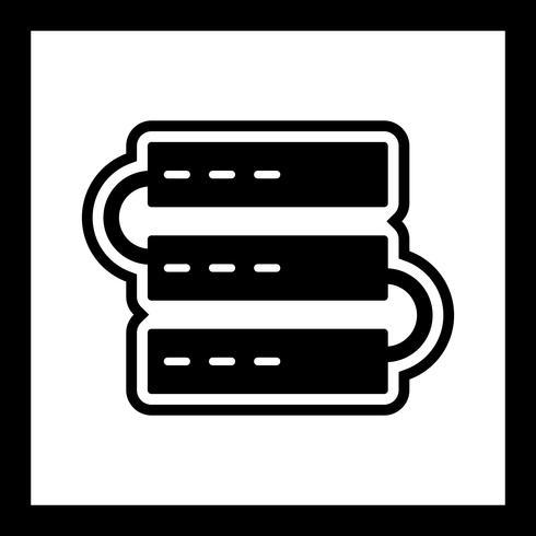 Servers pictogram ontwerp vector