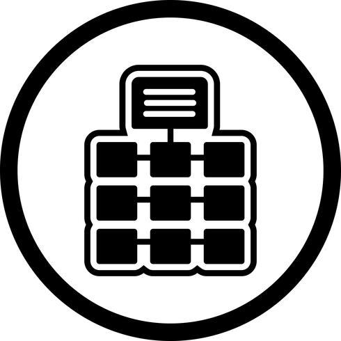 Netwerk pictogram ontwerp vector