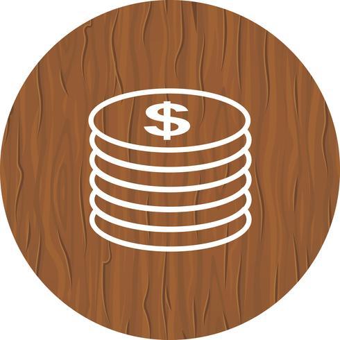 Munten pictogram ontwerp vector