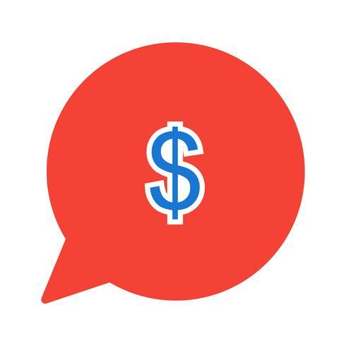 Stuur geld pictogram ontwerp vector