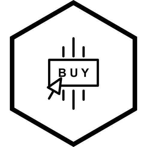 Koop pictogramontwerp vector