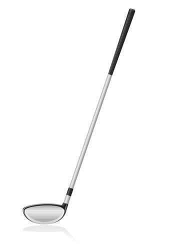 golfclub vectorillustratie vector