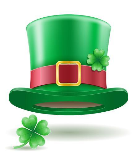 Saint Patrick's Day Kabouter Hat stock vector illustratie