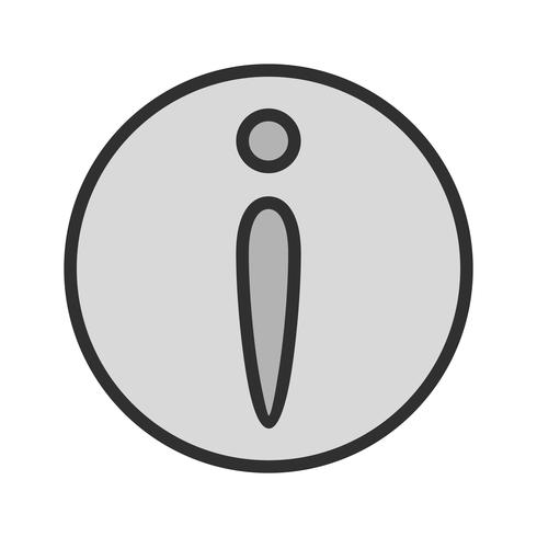 Informatie Icon Design vector