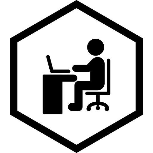 Laptop-pictogramontwerp gebruiken vector
