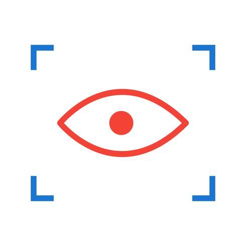 Pictogramontwerp scannen vector