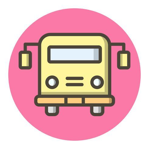 School bus pictogram ontwerp vector