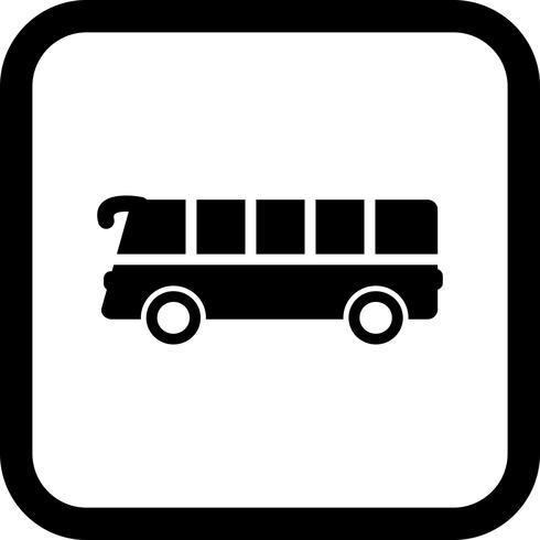 Bus pictogram ontwerp vector