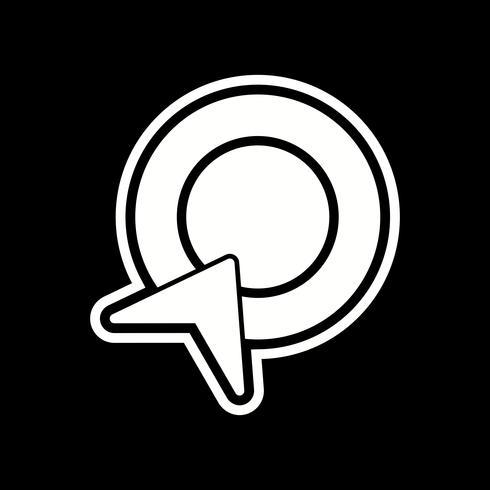 Betaal per klik pictogramontwerp vector