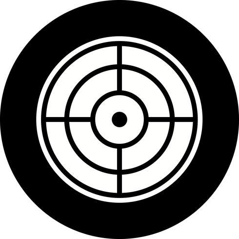 Target pictogram ontwerp vector
