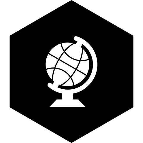 Globe pictogram ontwerp vector