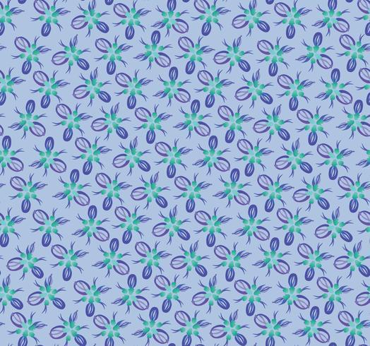 Abstract oosters bloementegelpatroon. Geometrisch ornament vector