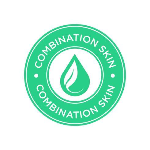 Combinatie skin pictogram. vector