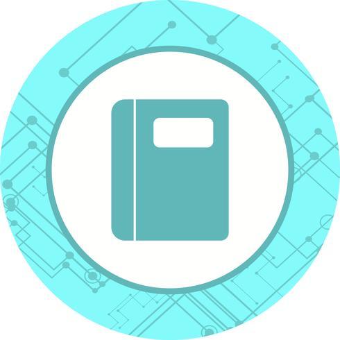 Notebook pictogram ontwerp vector