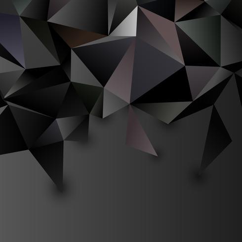 Lage poly abstracte futuristische achtergrond vector