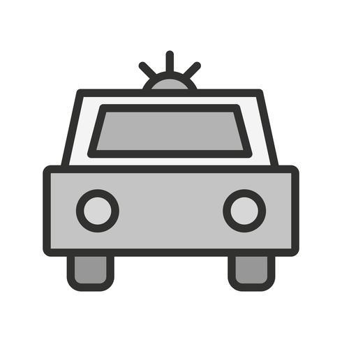 Politiewagen pictogram ontwerp vector