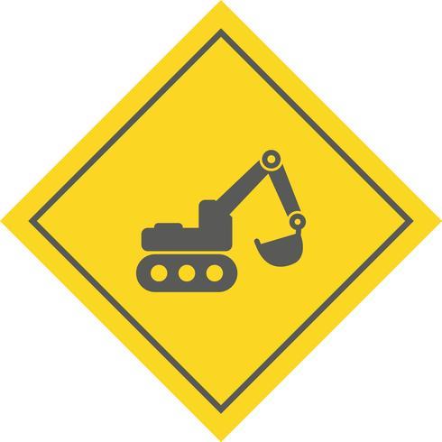 Graafmachine Icon Design vector