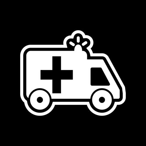 Ambulance pictogram ontwerp vector