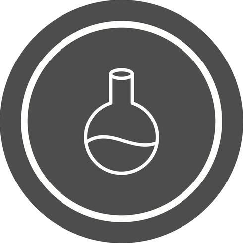 Flask pictogram ontwerp vector
