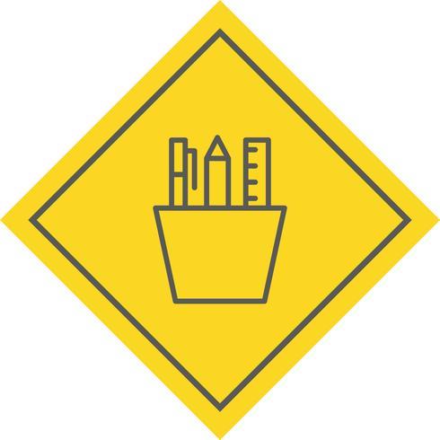 Briefpapier pictogram ontwerp vector