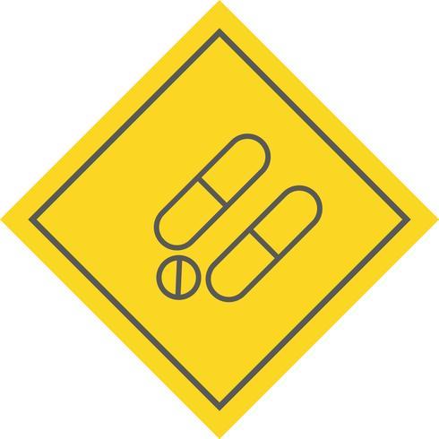 Medicijnen Icon Design vector