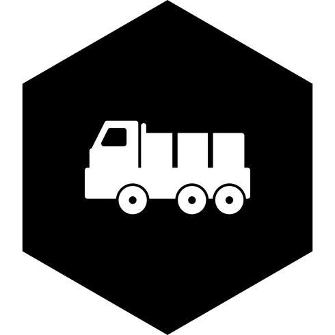 dumper pictogram ontwerp vector