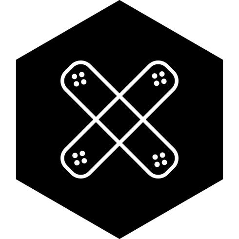 Band hulp pictogram ontwerp vector