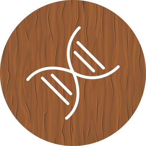 Genetica Icon Design vector