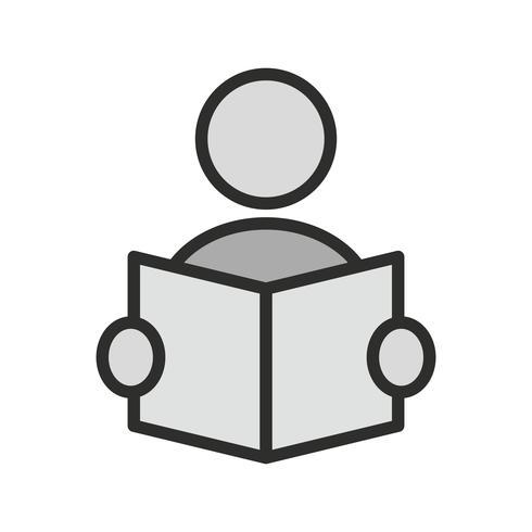 Pictogramontwerp lezen vector