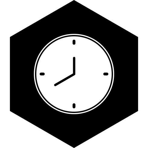 Klok pictogram ontwerp vector