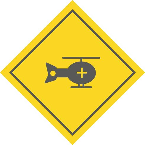 Helikopter pictogram ontwerp vector