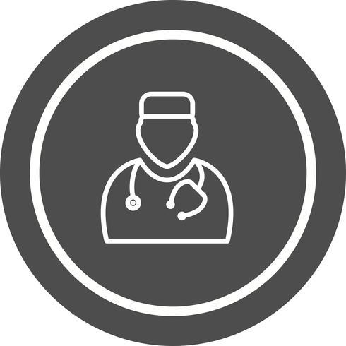 Doctor pictogram ontwerp vector