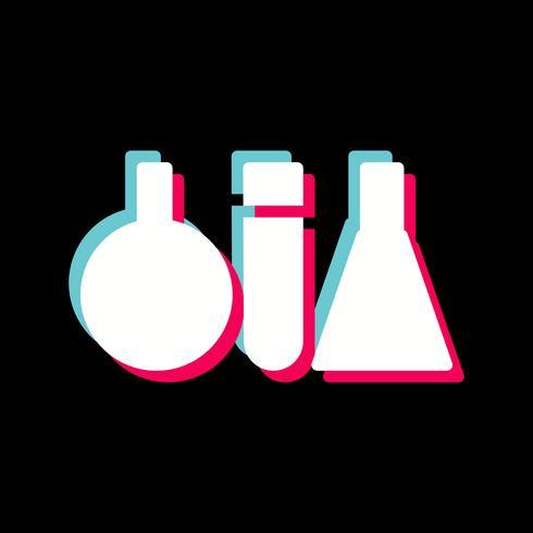 Reageerbuizen pictogram ontwerp vector