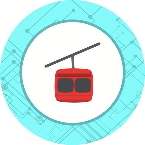 Stoellift pictogram ontwerp vector