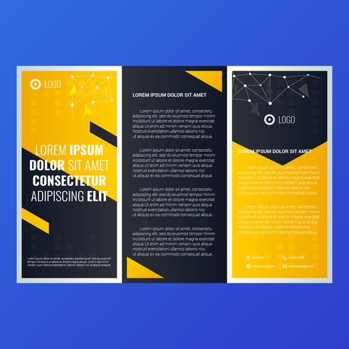 brochure sjabloon vector
